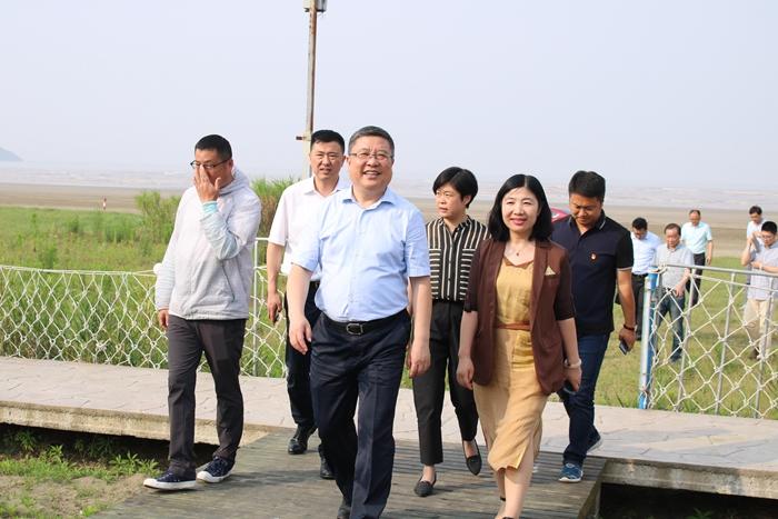 市委常委、组织部长张明超蹲点调研岱东镇乡村振兴工作